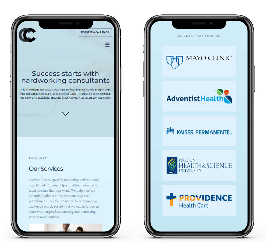 2 iphone outline - counseling calls-portfolio